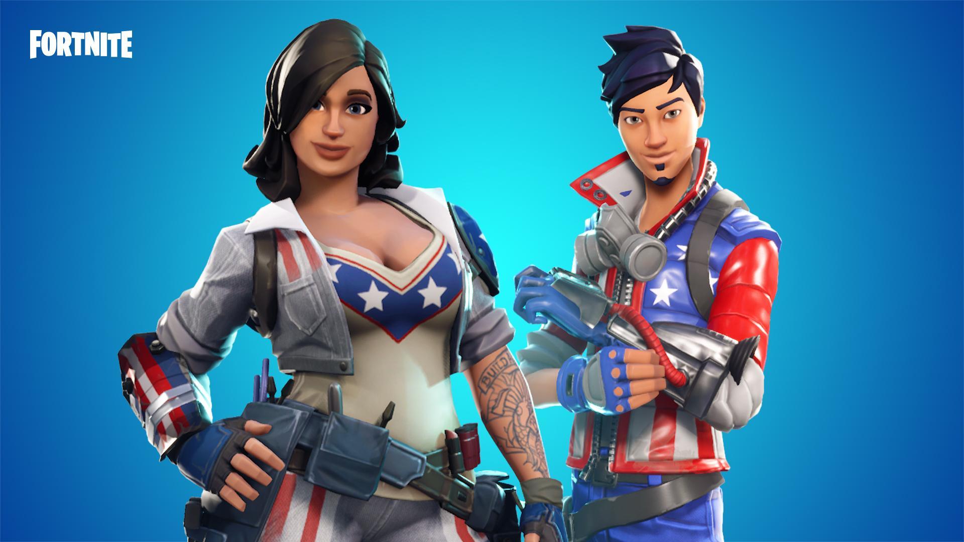 herois patriotas salve o mundo comemore a independencia norte americana com os herois patriotas encontre os na loja de evento por tempo limitado - fortnite salve o mundo personagens