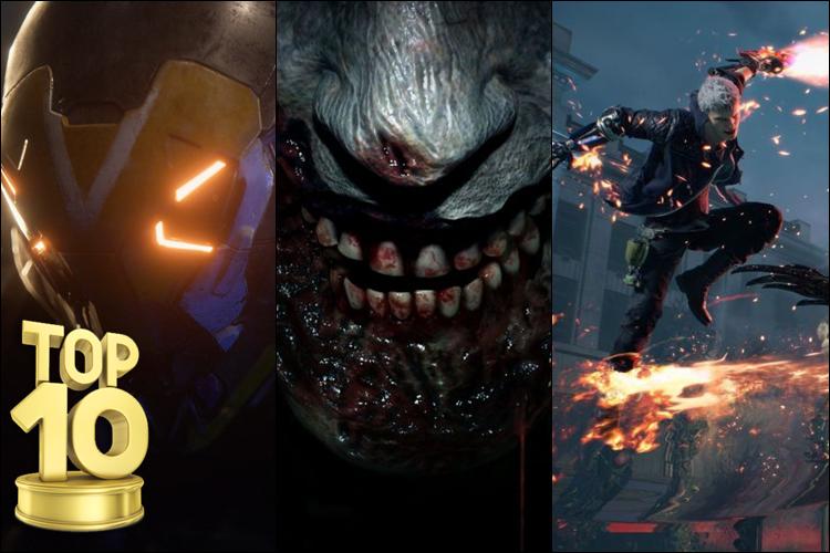 Jogos mais esperados de 2019