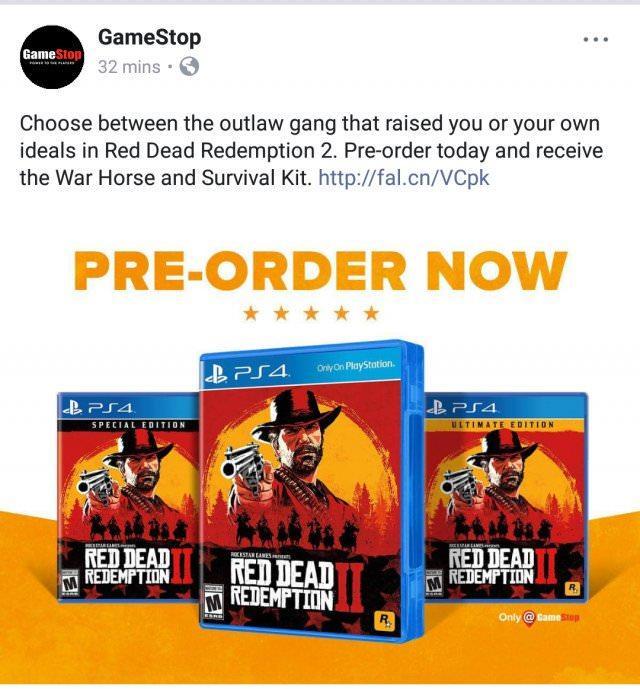 Red Dead Redemption 2 | Versão física terá mais de um disco
