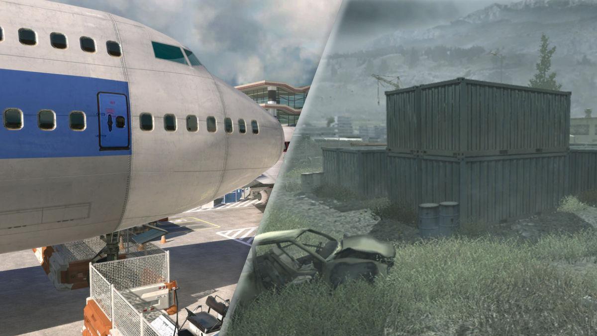 call of duty modern warfare maps multiplayer