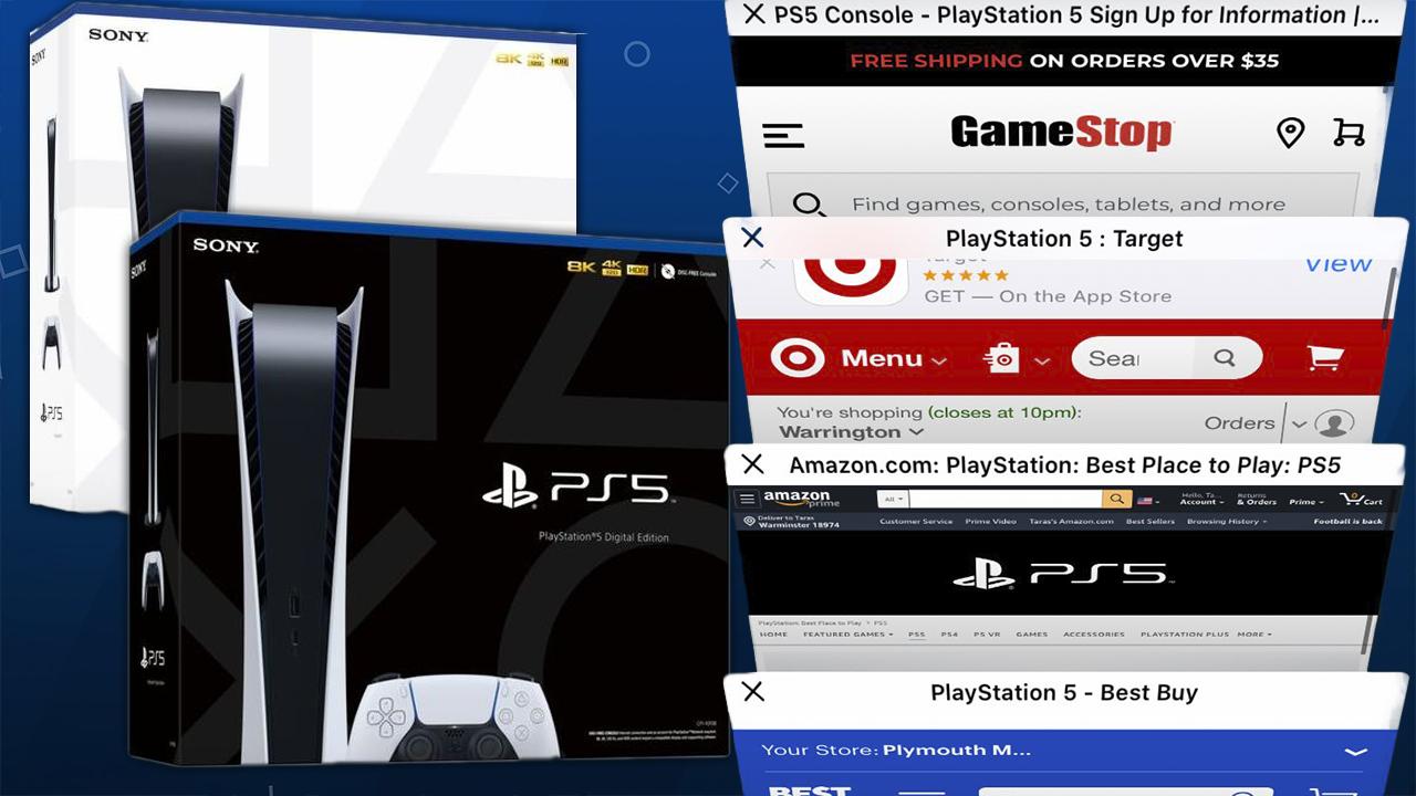PS5 já está esgotado na pré-venda