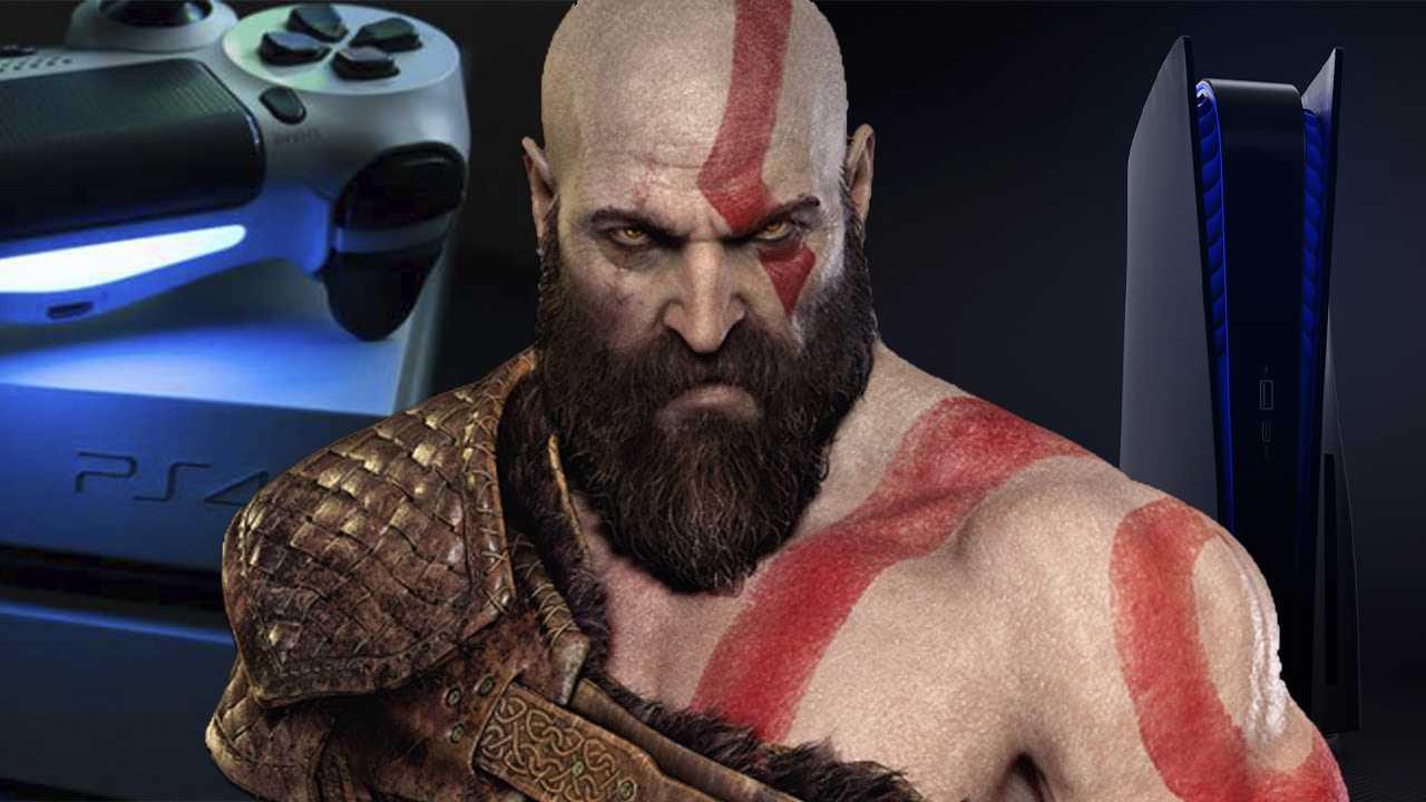 God of War vai rodar a 60FPS no PS5 e saves do PS4 podem ser usados